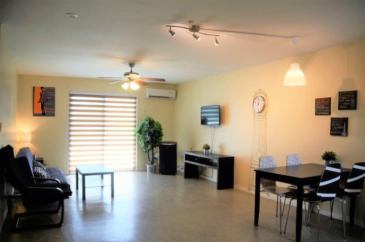塞班岛湖花园酒店式公寓 两室一厅 C套 - Susupe - Apartmen perkhidmatan