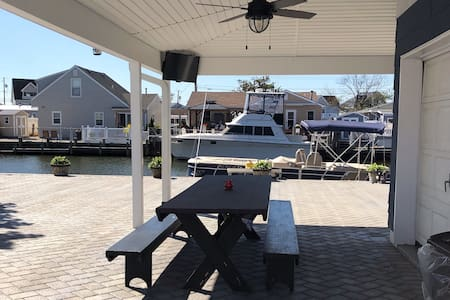 Toms River home on the water