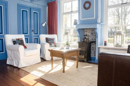 Origineel eilanderhuis Tietschia - Schiermonnikoog