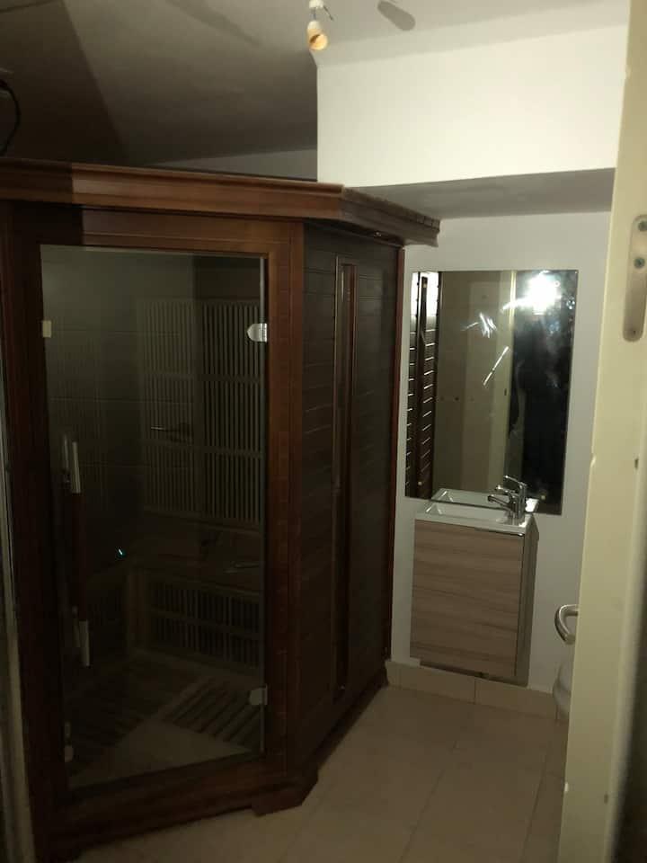 Las Margas Golf Casa con txoko y sauna