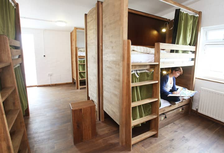 Bed in a 14 Person Shared Dormitory