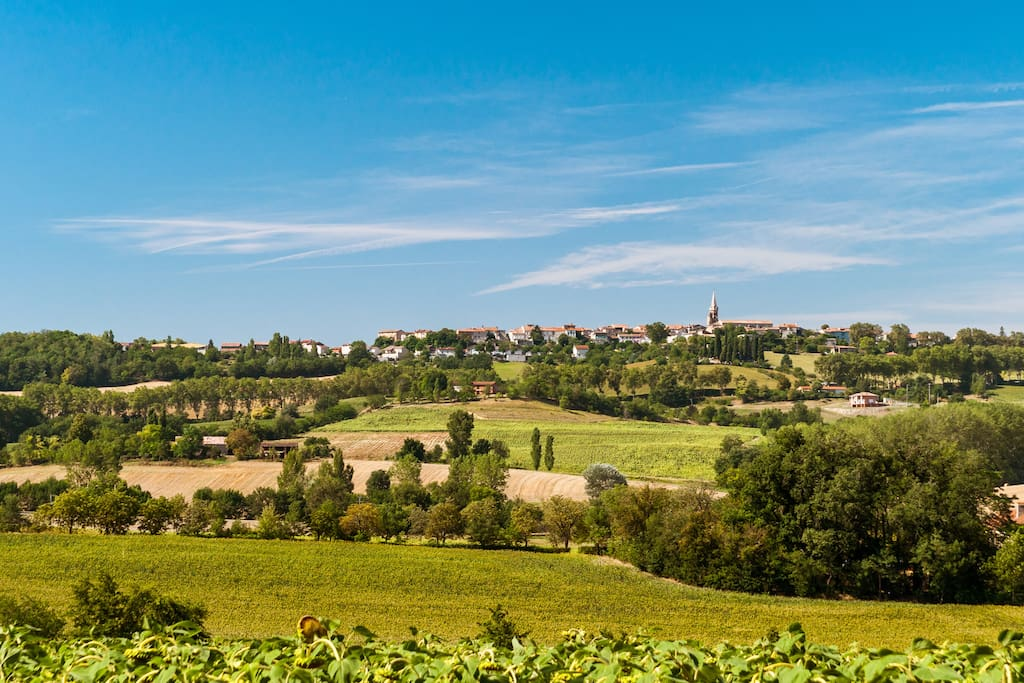 Puylaurens is surrounded by incredible views