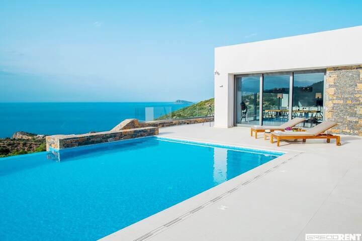 Contemporary New Large Villa - Agios Nikolaos - Villa