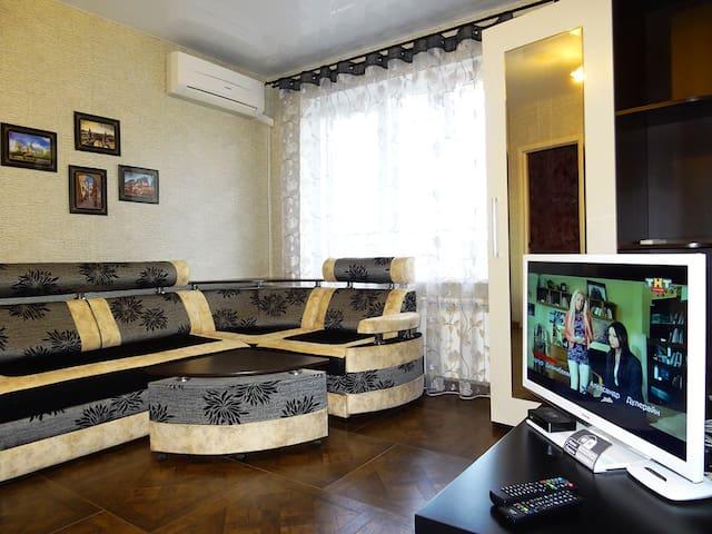 "Luxury apartment / Квартира ""Люкс""B - Майкоп - อพาร์ทเมนท์"
