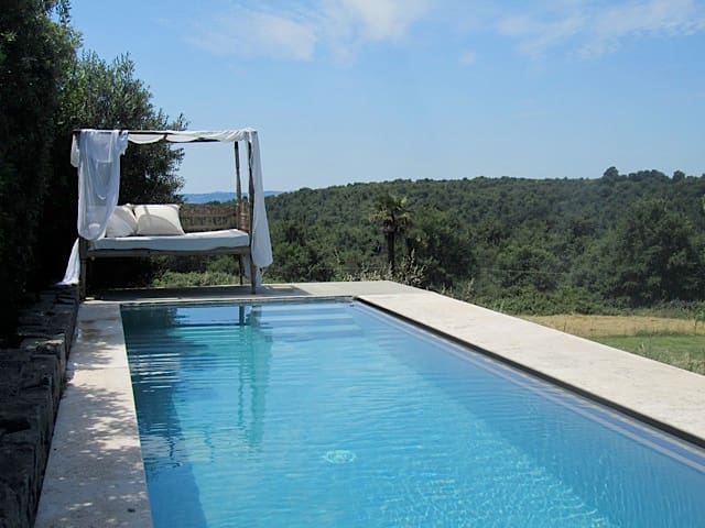 Luxury apartment at countryside in Lazio region