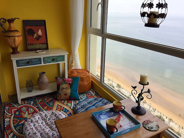 金沙滩一线海景异域美宅之墨西哥风情