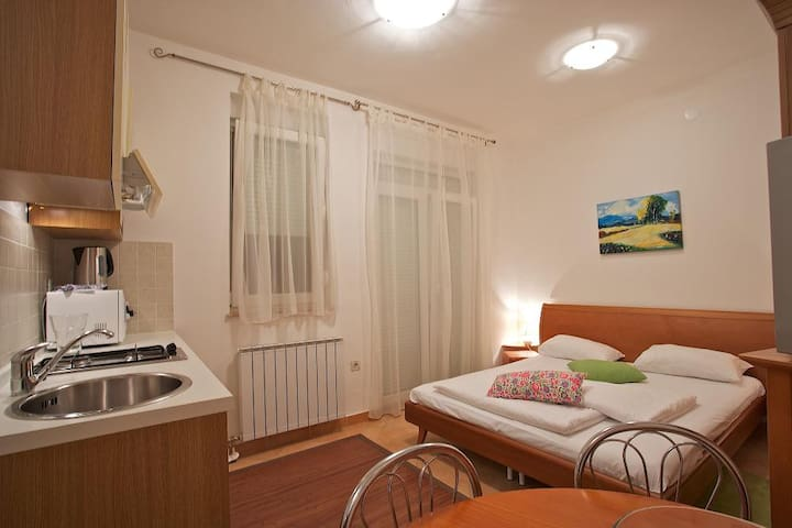 Studio apartment at Ribarska Koliba Resort