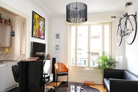 Cozy Flat in Pâquis Geneva - Apartament