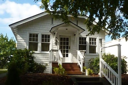 Up to six guests may share our urban cottage, located just blocks from the West Seattle Junction.