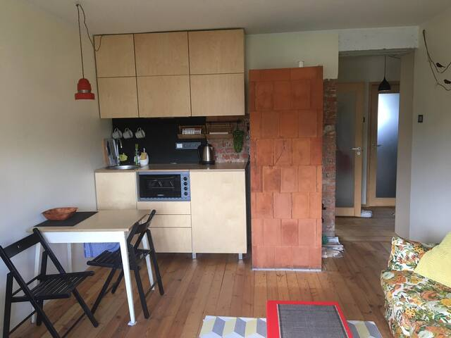 Small apartment in Ülejõe (2,4 km from downtown)