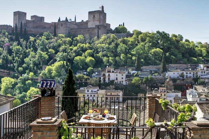 Albaicín casa con vistas Alhambra VFT/GR/01144