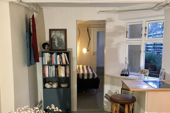 Hyggelig lejlighed 60kvm i byhus på Frederiksbjerg