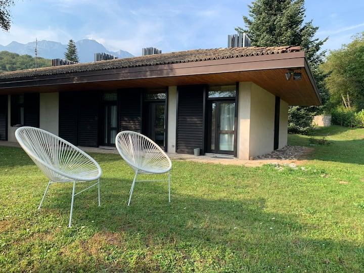 Porzione Villa a 10minuti da Trento nel verde
