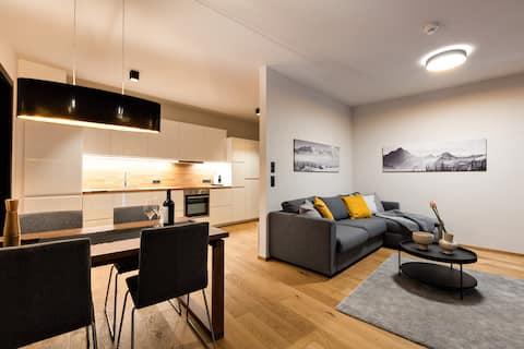 Charmant appartement in de Residence Silvretta