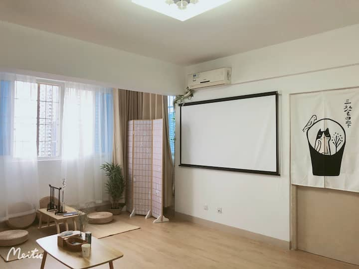 (叁漫)近漳州古城,中医院,龙溪小学的一房一厅光线足大床