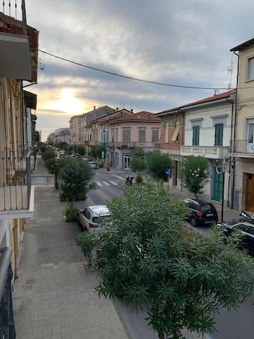 Casa bonita nel cuore di Viareggio