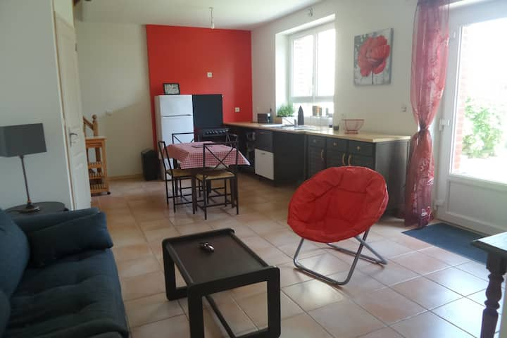 Maison de 2 à 4 personnes au coeur de Saint Malo