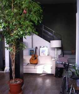 House / Loft in a private alley - Room w. bathroom - Arcueil
