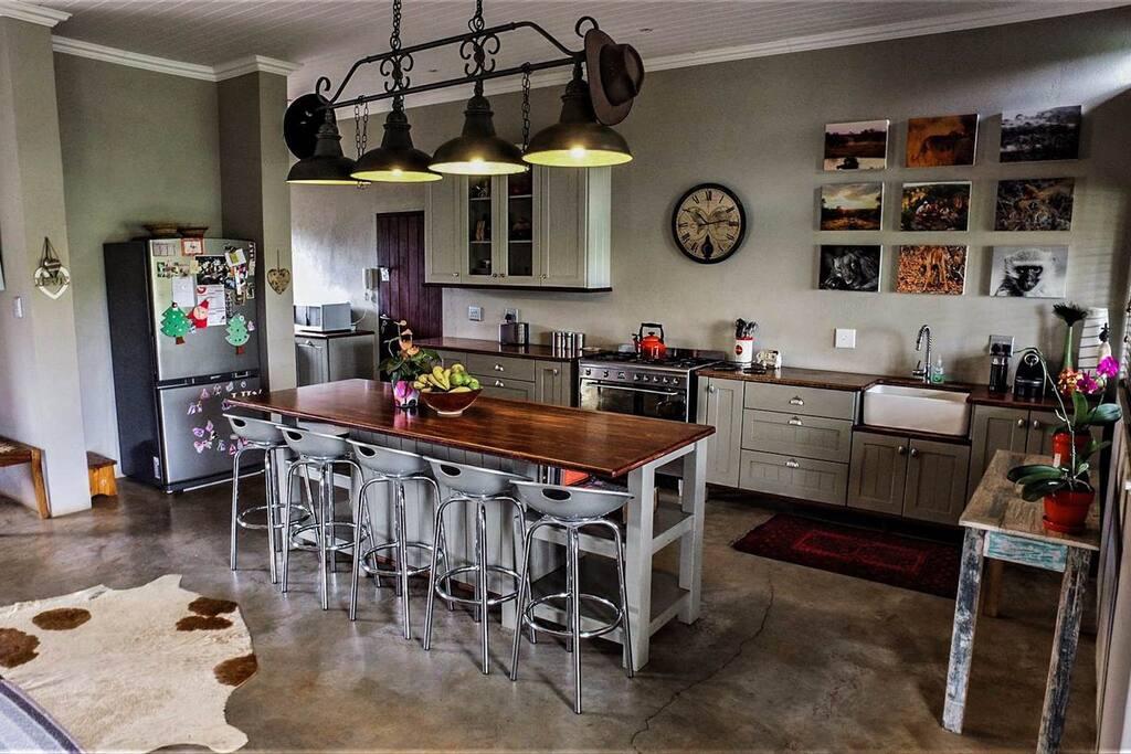 Charming farm style kitchen