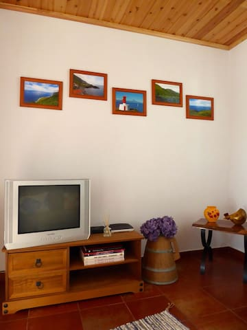 Azorean Cottage - Sala de estar