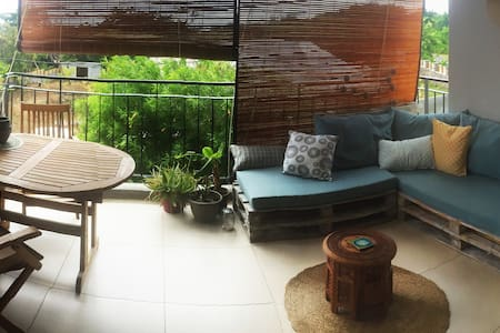 Tamarin sea view, apartment with swimming pool