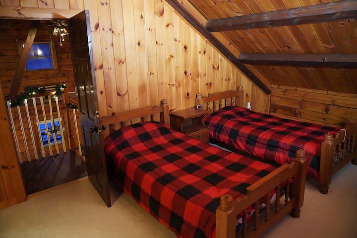Loft bedroom for kids.