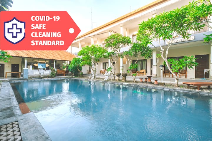 Stay in Uluwatu Tropical Holiday Room | STERILIZED