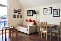 Airy and light one bedroom flat London