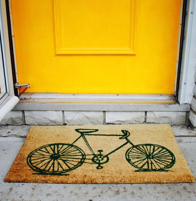 Welcome to the Yellow Door