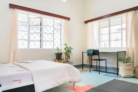 Private sanctum in modern home