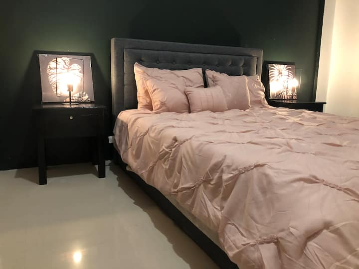 Sto. Niño- Cozy Queen Bed with Pull Out Lucena