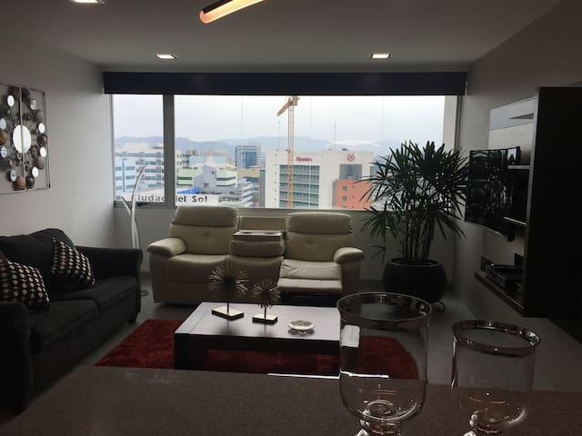 Suite de lujo Cerca muy cerca de todo. Mejor zona - Guayaquil - Lejlighed
