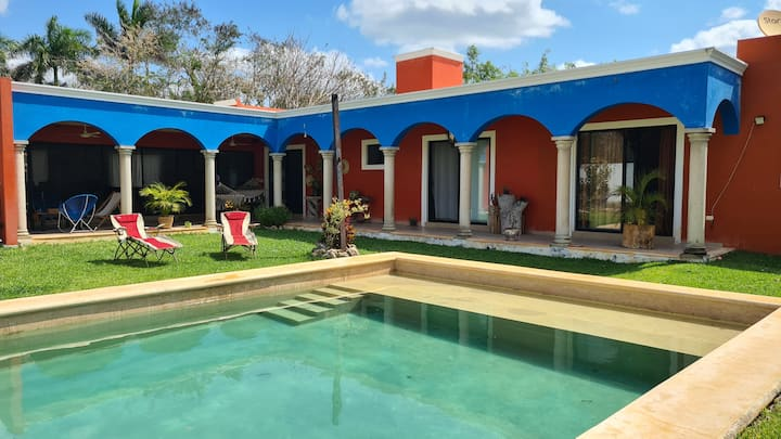 Hacienda Cholul enjoy and relax in style...