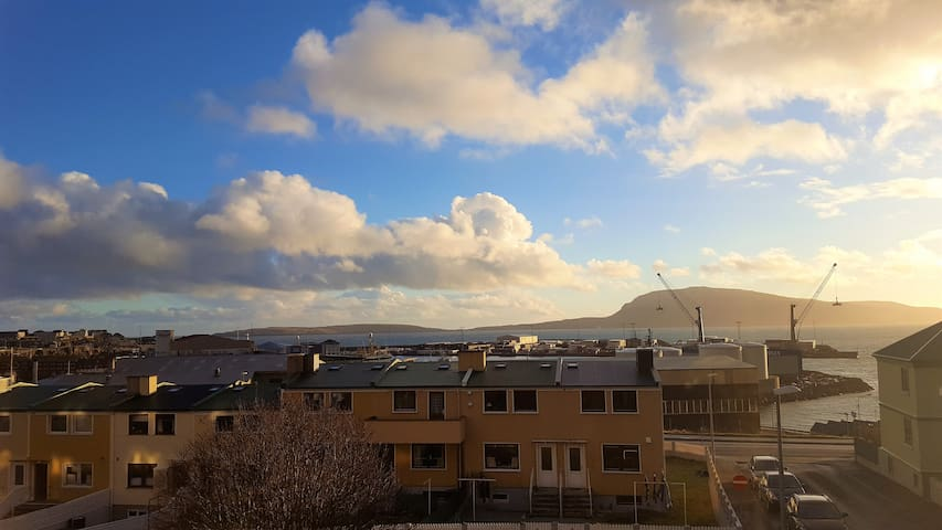 Flat in Central Tórshavn: Couple/Family/Friends - Tórshavn - House