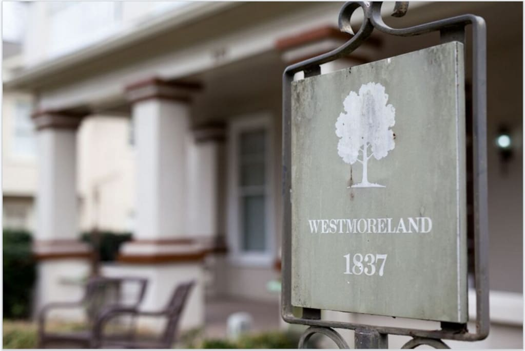 Historic Marker  Westmoreland 1837