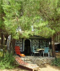 Beautiful cheap caravan in the camp Ublog-Vinko - Dobropoljana