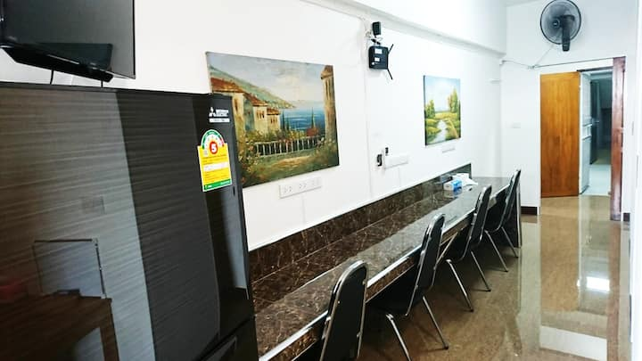 18 floor apartment for group/family/1 person only