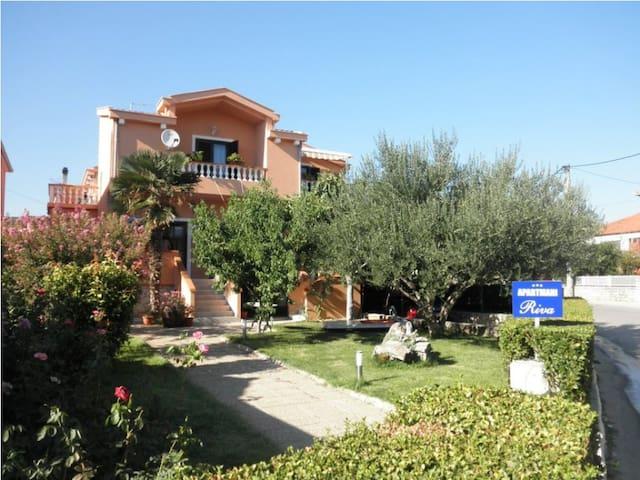 Apartment  Riva A4, 50 m2, terrace - Posedarje