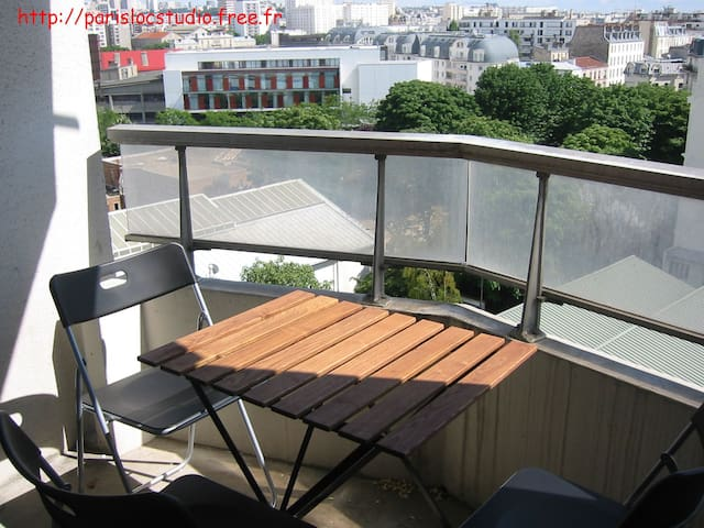Furnished studio Paris Montmartre - París - Departamento
