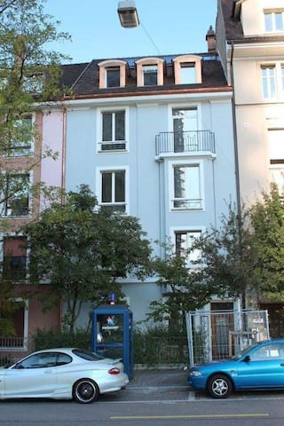 Close to BASEL SBB and GROSSPETER TOWER/Maisonette