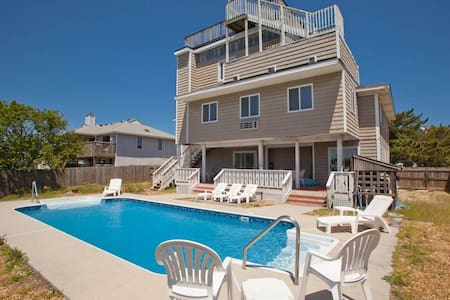 """ISLAND GIRL""-Sleeps 15-Waterfront-Dock-POOL-BEACH"