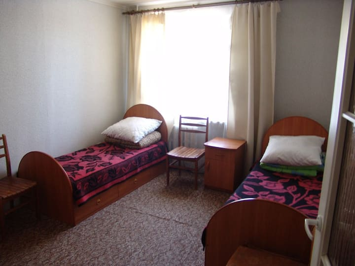 Comfortable rooms for 2 guests near the center