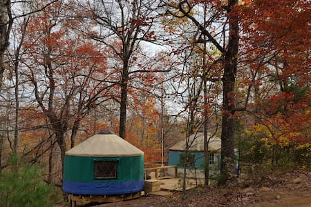 Yurt Life @ Mellowspring Family Farms - Floyd