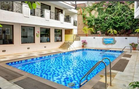 1BHK Baga Kinara Apartment W Pool