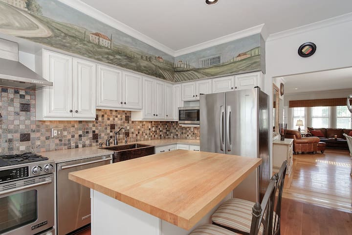 Bright home with lots of character!