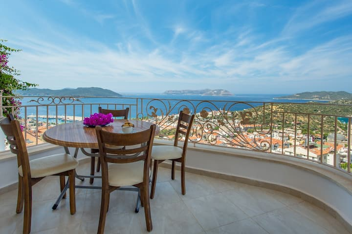 Best Apart Kaş / The Top Location, Perfect View !