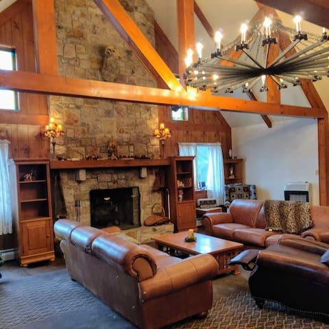 NEW Split Rock Lake Harmony Rustic Home.