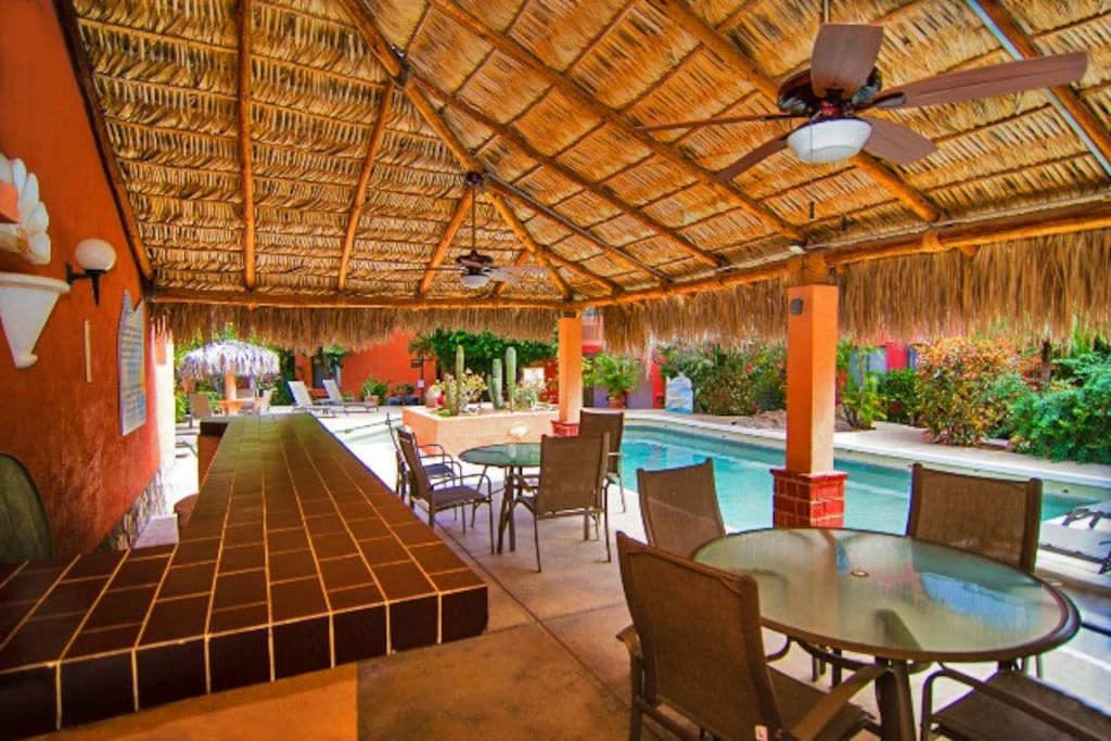 One of two common (palapa) with entertainment for your enjoyment.