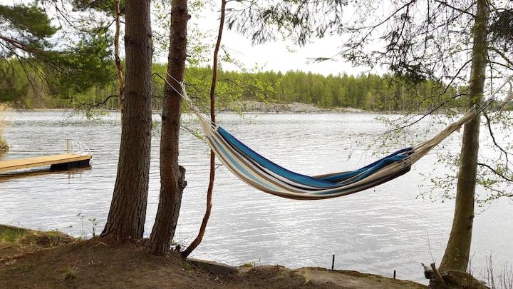 House by Lake Päijänne, Central Finland