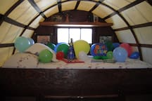 A birthday package can be added to your experience (see the space description for details).
